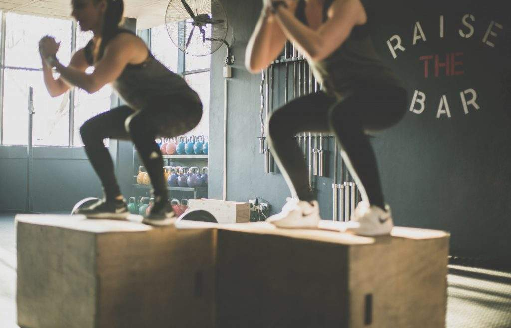 Squat Jumps for weight loss