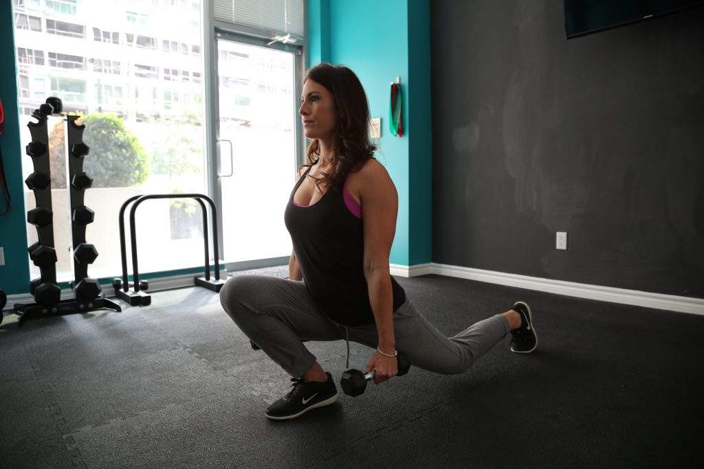 Women doing Lunges