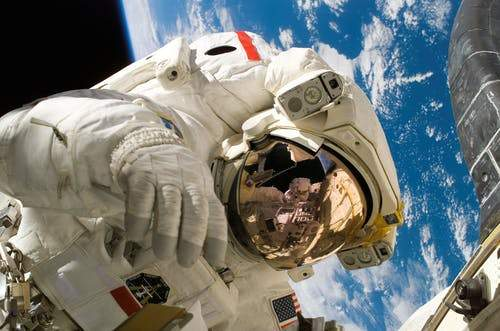 Life In Space For Astronaut