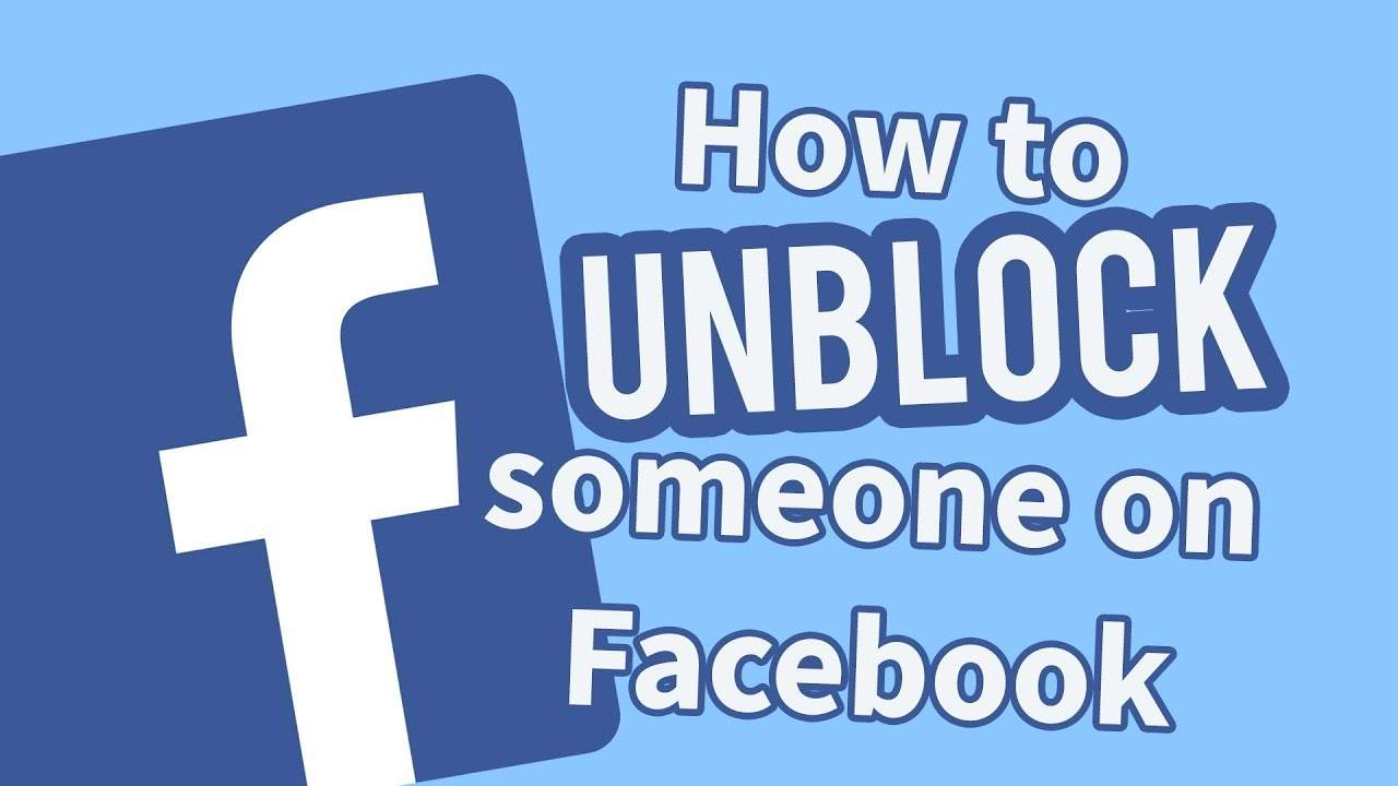How To Unblock A Person On Facebook Lite