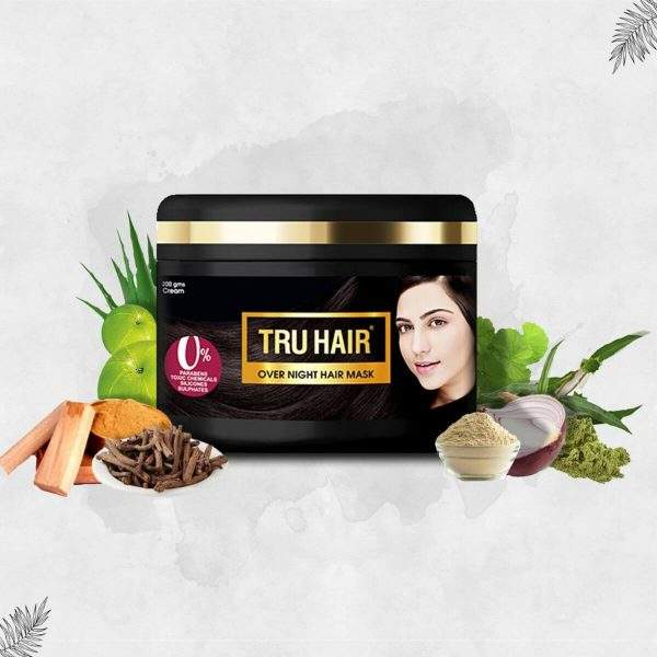 What Is An Overnight Mask For Hair And How Does It Help & How To Use It?
